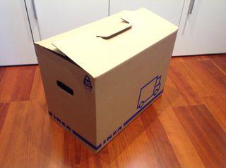 Cajas mudanza Ikea
