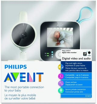 Cámara vigilabebés Philips Avent