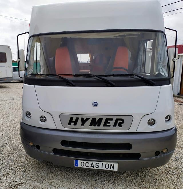 Autocaravana Hymer integral
