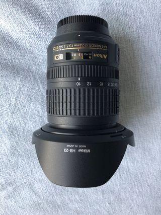 Objetivo Nikon 10-24 mm