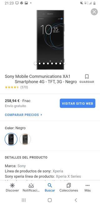 Sony xperia XA1 ultra 32 gb 4g