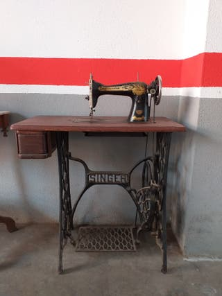 Máquina coser Singer año 1929