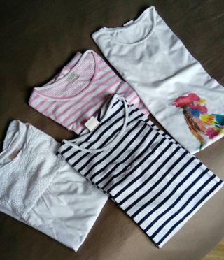Camiseta niña zara