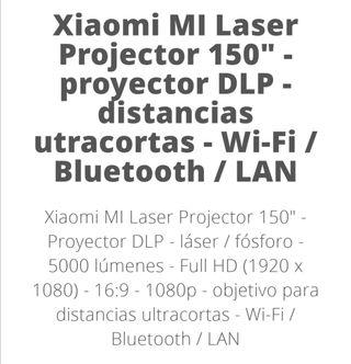 proyector xiaomi mi laser 150''