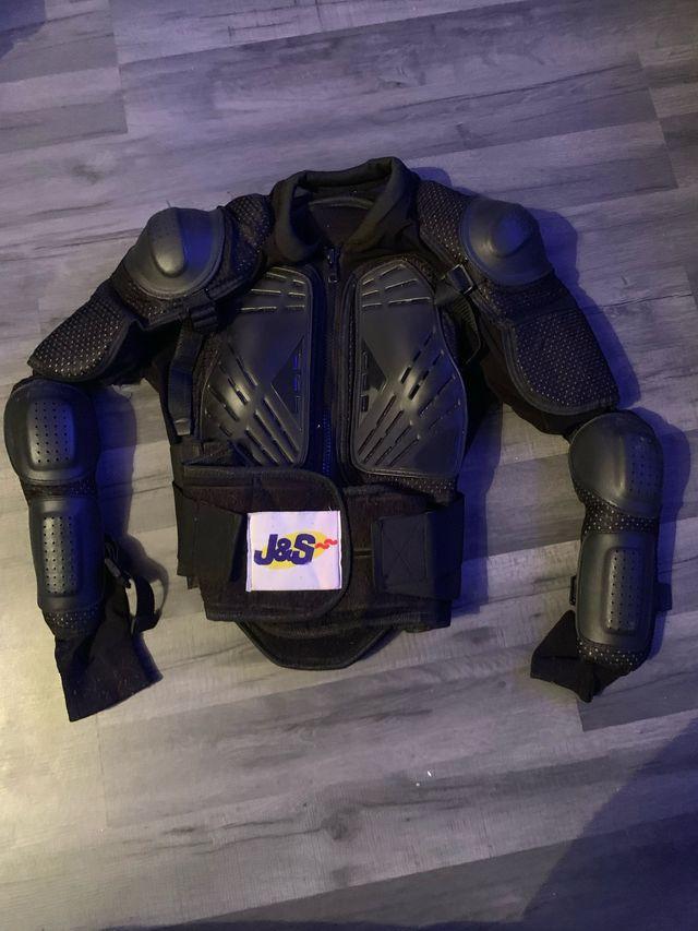Motorbike, Helmet, Gloves, Goggles, Shirt, Armour