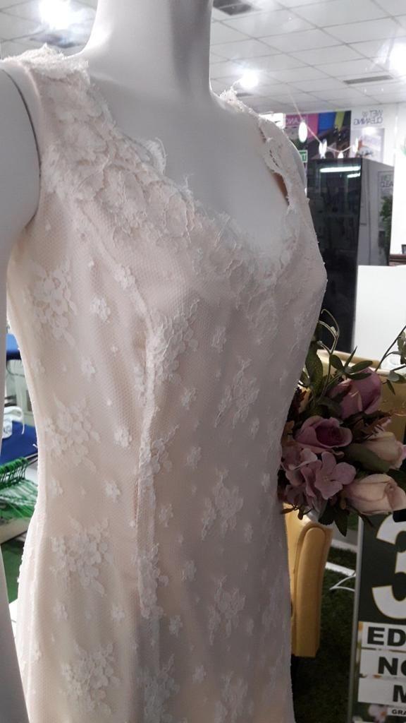 Vestido de novia modelo vintage