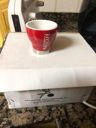 Juego tazas Nescafe para cafe