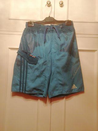 Bañador Adidas talla 10 años azul