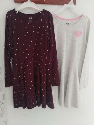 2 vestidos de niña
