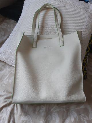bolso blanco marca noco