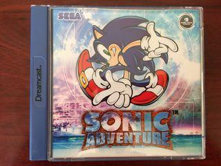Juego Sonic Adventure para Dreamcast