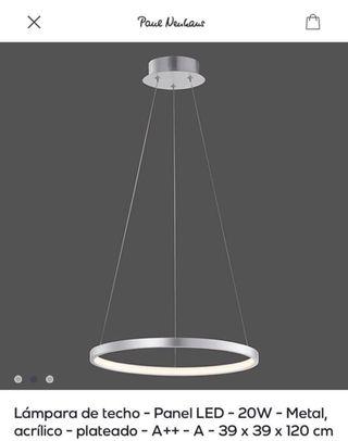 ¡Oportunidad! Lámpara circular Paul Neuhaus NUEVA