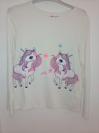 camiseta de punto niña