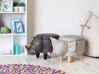 Puf infantil almacenaje Elefante