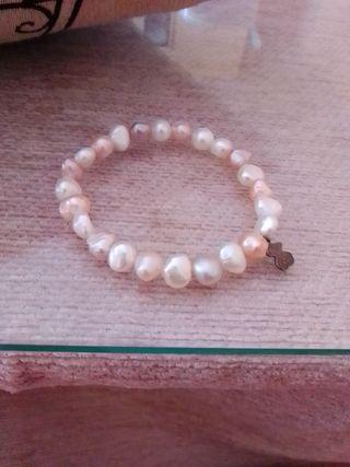 pulsera Tous.Perla cultivada.Original.