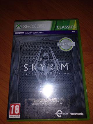 Skyrim v xbox 360