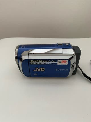 Cámara de vídeo JVC + funda