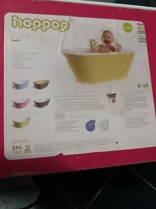 Bañera bebé marca Hoppop