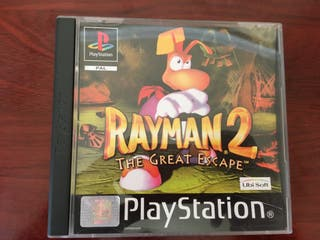 Juego Rayman 2 The Great Escape PSone PSX
