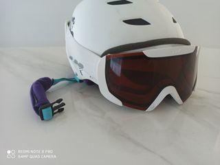 Casco + Máscara ski snow
