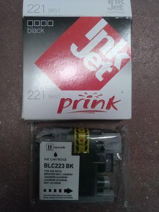 Cartucho Prink 221. BLC223BK