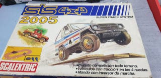 Circuito SCALEXTRIC sts 4x4