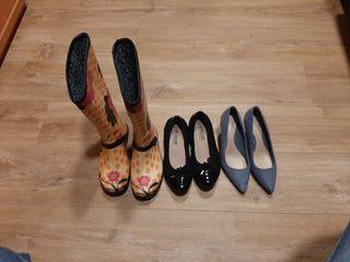 Lote zapatos y botas