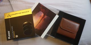 Filtros fotograficos magneticos KASE 77mm