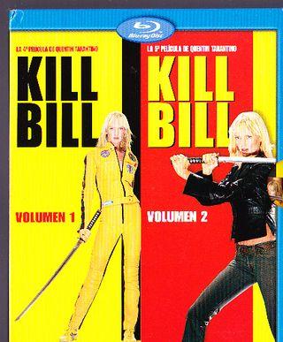 KILL BILL VOLUMEN 1 Y 2 BLU RAY