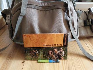 mochila portabebés montaña Decathlon