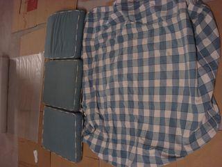 Funda sofa cama cuadros