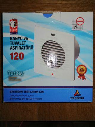 extractor de humos o vapor para cocina o baño