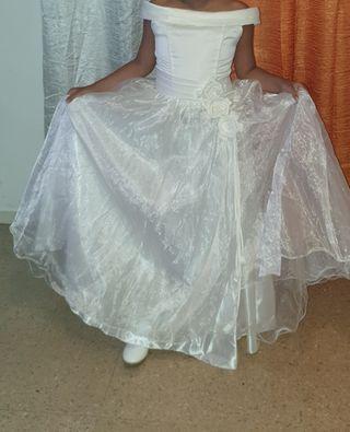 vestido de comunion talla 10