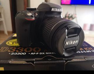 Camara Nikon D3300 SUPER PRECIO