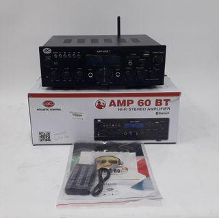 AMPLIFICADOR HI-FI ACOUSTIC CONTROL AMP 60 BT