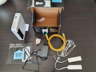 Router (ruter) con complementos