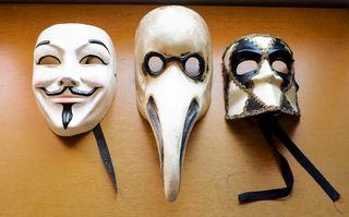 Máscaras Venecianas Artesanales