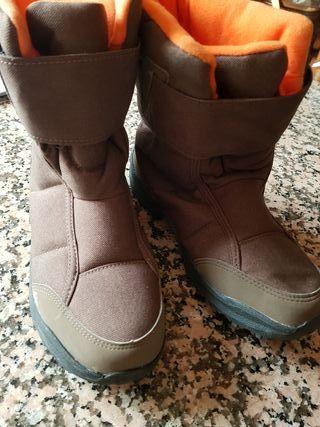 botas de nieve número 36