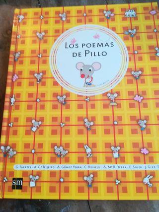 """libro infantil de poemas """"Los poemas de pillo"""""""