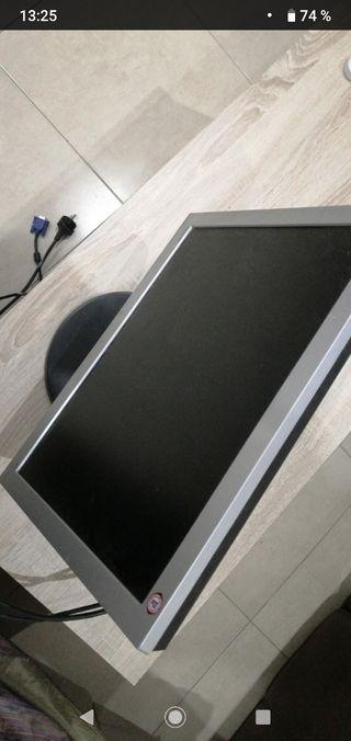 pantalla para oedenado