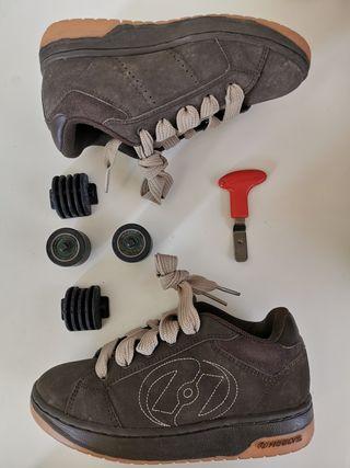 Bambas deportivas de ruedas Heelys