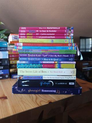 literatura infantil/juvenil en inglés y en francés