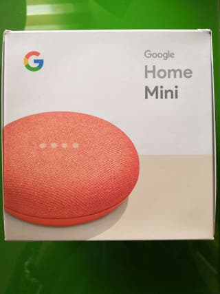 Se vende Google Home Mini