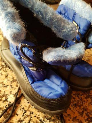 botas de nieve número 35