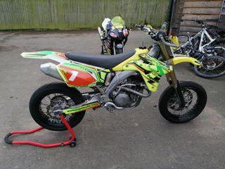 suzuki Rmz Rmx 450 supermoto track bike Yzf Wr