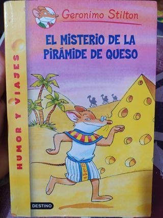 Gerónimo Stilton El misterio de la pirámide