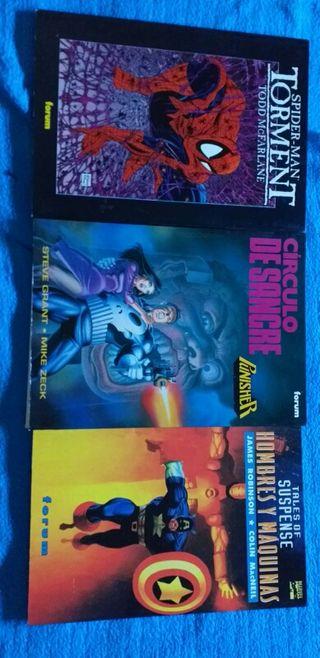 varios comics