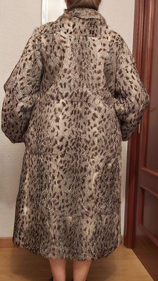 Abrigo piel de lince ibérico
