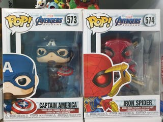 Pack Capitán América y Iron Spider Funko Pop