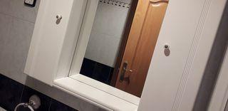 Espejo baño con armarios